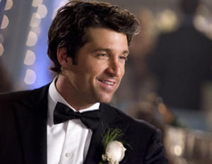 """Patrick Dempsey in """"Made of Honor."""""""